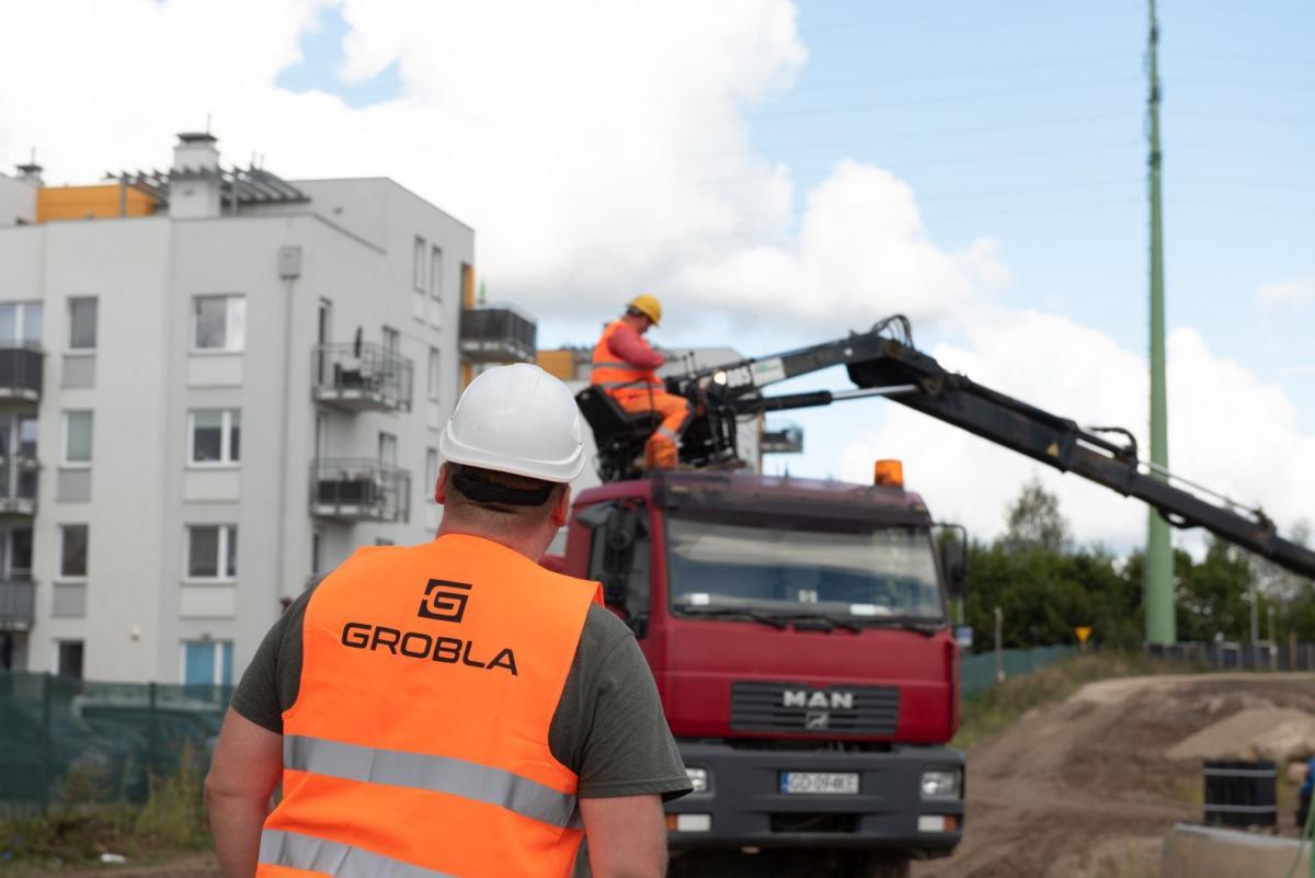 Roboty ziemne - Grobla.com.pl